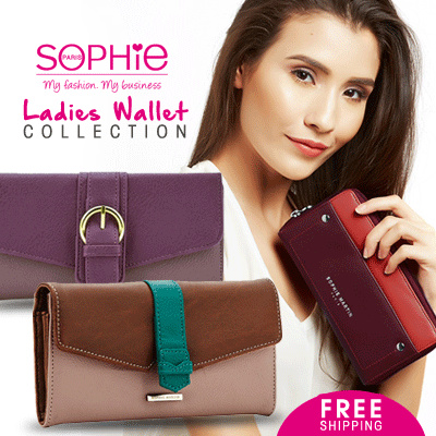 LADIES WALLET COLLECTION Deals for only Rp109.900 instead of Rp109.900