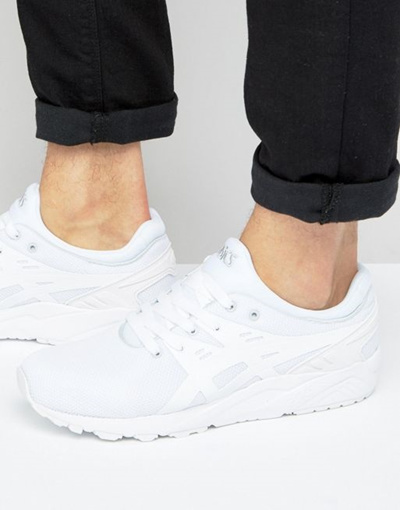 new arrival fde2b 8a639 Asics Gel-Kayano Evo Sneakers In White H707N 0101