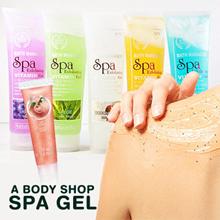 A Body Shop Spa Exfoliating gel / Spa Glos A Levress ♣ BIG SIZE ♣ MURAAAHHH ♣