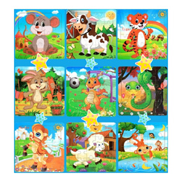 Educational Toys-20 Pieces Wooden Jigsaw Puzzle/Children Gift /Goodies Bag/Birthday Gifts