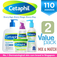 ★ 1+1 Mix N Match + FREE SHIPPING ★ SG NO.1 CETAPHIL GENTLE SKIN CLEANSER | RESTORADERM