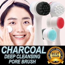 【TRENDING 2019!】❤ CHARCOAL DEEP CLEANSER PORE BRUSH ❤ BLACKHEAD ★ PIMPLE ★ FACIAL ★ POWERFUL DETOX!