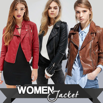 Jacket Kulit Wanita - Jacket Rock n Roll - GOOD QUALITY ! 7a6181afe5