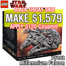 [BLACK FRIDAY SALE - MAKE $1579] LEGO Star Wars Millennium Falcon 75192 Ultimate Collector Series