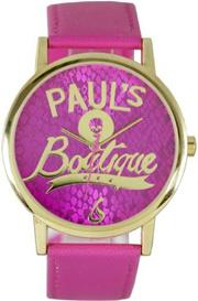 PAULS BOUTIQUE Pauls Boutique PA020PKGD Ladies Snake Print Pink Watch