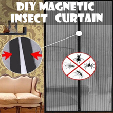 [Magnet Use]Insect Fly Bug Mosquito Door Window Netting net Mesh Screen Sticky Velcro Tape
