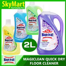 Magiclean 2L Floor Cleaner Lemon / Lavender / Flower Bliss / Green Apple / Floral