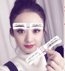 ❤[BUY 1 GET 1 FREE eyebrow pencil + FREE GIFT] ❤96 pcs 12 types eyebrow sticker ❤