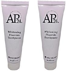 AP 24 Whitening Fluoride Toothpaste 2 pack ( NU Skin )