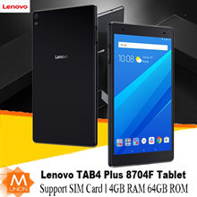 [Ready Stock]Lenovo TAB4 Plus 8704 Tablet|Support SIM Card|SD Card|Android 7.1|With Free Warranty