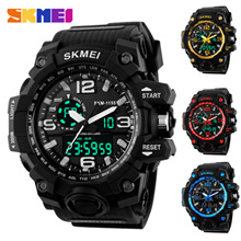 SKMEI-1155 SKMEI-1227 Men's Wrist Watch / Sports Waterproof Watch / Men's Watch / Sports Watch / Waterproof / Color Selectable