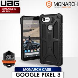 UAG Google Pixel 3 5 Inch Monarch Case (Black)
