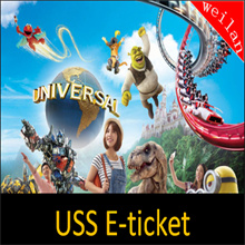 【Universal Studio Singapore 】Promotion!! USS admission electronic e tickets one day pass