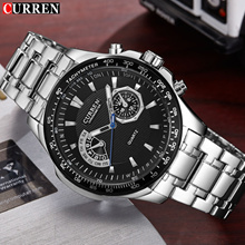 discount Fashion Brand Watch CURREN Men s Quartz Watch Mens Watches Sport Military Watches Men relog