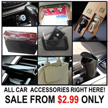 [ORTE] SALE★Car Accessories★Catch Caddy Car Sleeve Organizer★Sun Visor Pocket★ Express Delivery