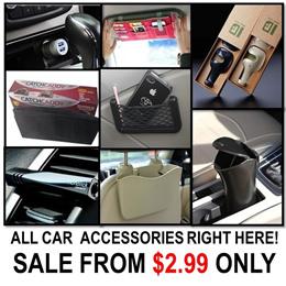 [ORTE] SALE★Car Accessories★Catch Caddy Car Sleeve Organizer★Sun Visor Pocket★ Express Delivery