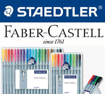 [STAEDTLER/FABER +Gift] New arrival staedtler colour pencils 24 BRAND NEW Watercolour GRIP Colouring
