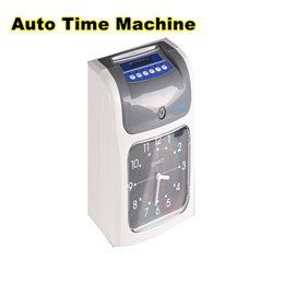 sg seller/auto time machine/ time clock attendance machine paper card punch   color printing