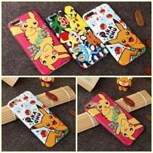 Three kind Design Pikachu iPhone6 Case! Cute Pikachu Thin TPU Case for iPhone6 for iPhone6 PLUS Casi