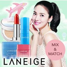 MIX and MATCH! Laneige Lavender/Water/Lip/Eye sleeping mask/Cushion/Lipstick