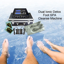 Foot SPA Cleanse Machine with Dual Ionic Arrays