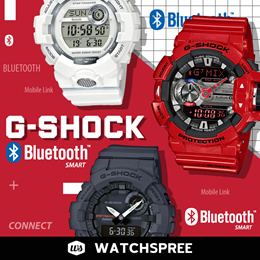 *APPLY SHOP COUPON* G-SHOCK Bluetooth® Watches Series! G MIX GBA400 G-SQUAD GBA800 Free Shipping!