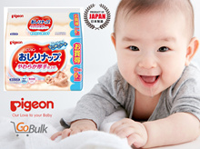 PIGEON *Japan Version* 99% Water Wet Wipes 80s (9 packs)