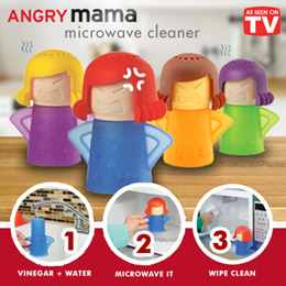 *HOT SELLING*ANGRY MAMA MICROWAVE STEAM CLEANER*CLEAN UP YOUR MICROWAVE IN MINUTES *DISHWASHER SAFE*