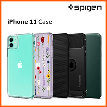 Spigen iPhone 11 Case iPhone 2019 iPhone 11 casing Screen Protector Tempered Glass 100% Authentic