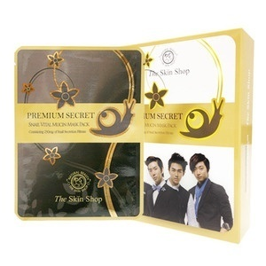 [Giveaway 22 Jan 830PM][200 Qty] The Skin Shop Premium Secret Snail Mask 3 pcs Deals for only S$35.9 instead of S$0
