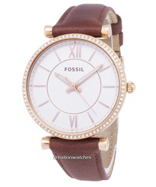[CreationWatches] Fossil Carlie ES4428 Diamond Quartz Analog Womens Watch