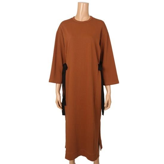 さらにリフトアッシュロングLAF3FOP010 面ワンピース/ 韓国ファッション