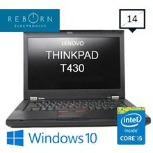 [Refurbished] LenovoThinkpad T430/ Core I5 3rdGen  / 160GB SSD / 4GBRAM / Wins10 PRO/30days Warranty