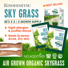 [2MTH SUPPLY] SkyGrass 30sx2 - Organic Wheatgrass* Fight Eczema / Boost Immunity