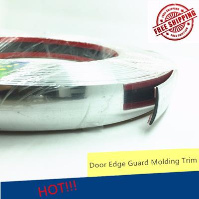 25mmx3 5m Car Decoration Sticker Anti-collision Chrome Styling Molding Trim  Strip Automobile Window