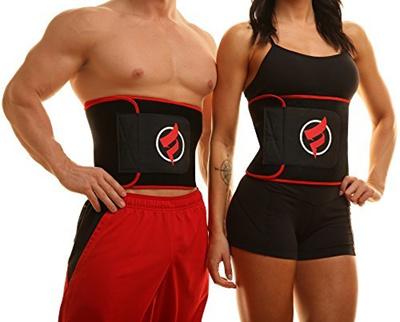 26c6f1b15f Fitru Waist Trimmer Weight Loss Ab Belt For Women Men - Waist Trainer  Stomach Wrap