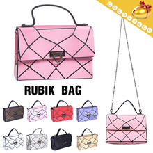 ◆Trendy Crack Pattern Sling Bags for Women◆ 2way -Shoulder^Tote Bag- 9 colors