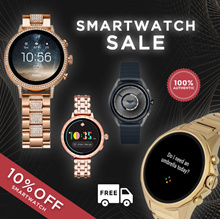 Smartwatch Discount Sale | Flat 10% Off | 100% Authentic | Free Shipping with International Warranty