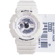 Casio Baby-G Quartz 100m Analog Digital Ladies Sports Watch BA-110PP-7ADR BA-110PP-7A