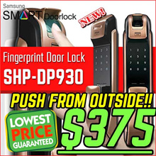 ★SHP-DP930★FINGERPRINT DIGITAL DOORLOCK DP930 PUSH PULL Door Lock