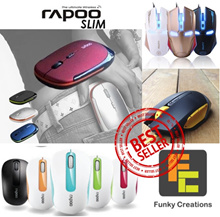 [Funky Creations] Rapoo Microsoft Logitech James Donkey Estone Gaming Mouse Mice Wireless Bluetooth