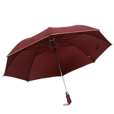 8dce7d2ce5773 Full automatic umbrella golf folding umbrella 2-fold sunscreen umbrellas  2018 Windproof Umbrellas