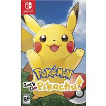 Nintendo Switch Lets Go Pikachu