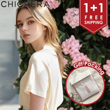 [CHICHERA] ♥ 1+1 ♥ Free Shipping ♥ Free Gift Packing ♥ Special Price ♥ Premium Natural Modal T-Shirt