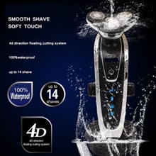 4D SHAVER Men's Wet and Dry Electric Shaver / Nose Beard Hair Trimmer Face Brush CLEARANCE SALE