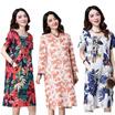 [NEW DESIGN Updated 20/11/2016] Plus Size ~ LINEN WOMAN FASHION Short Sleeve/Long Sleeve DRESS