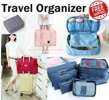Local Delivery Bag in Bag Organizer|Travel Essentials Necessities Organisers Bag Accessories Pouches