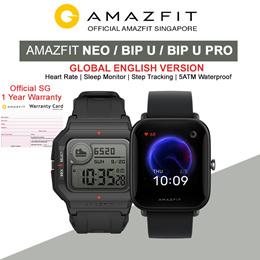 [Official Amazfit Singapore] AMAZFIT NEO / BIP U / BIP U PRO SmartWatch | English Version