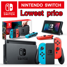 [Lowest Price] Nintendo Switch Console Super Bundle / 32GB (Grey // Neon Red/Blue)