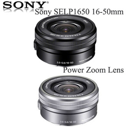 Sony SELP1650 16-50mm Power Zoom Lens (SilverBlack Bulk (Packaging) New